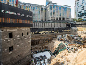 Site visit: ICD Brookfield Place, Downtown Dubai