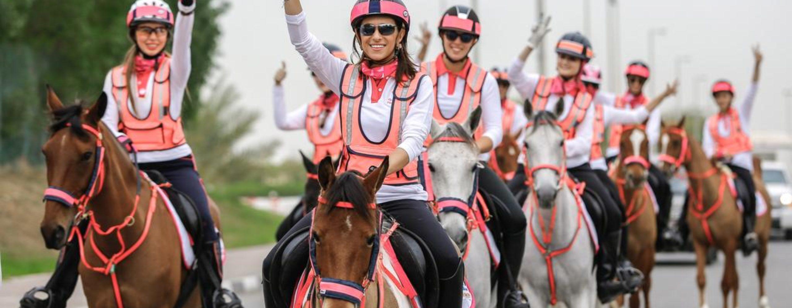 ICD Brookfield Place Dubai Pink Caravan Ride