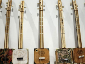 Build A 1 String Diddley Bow with Howlin' Rooster