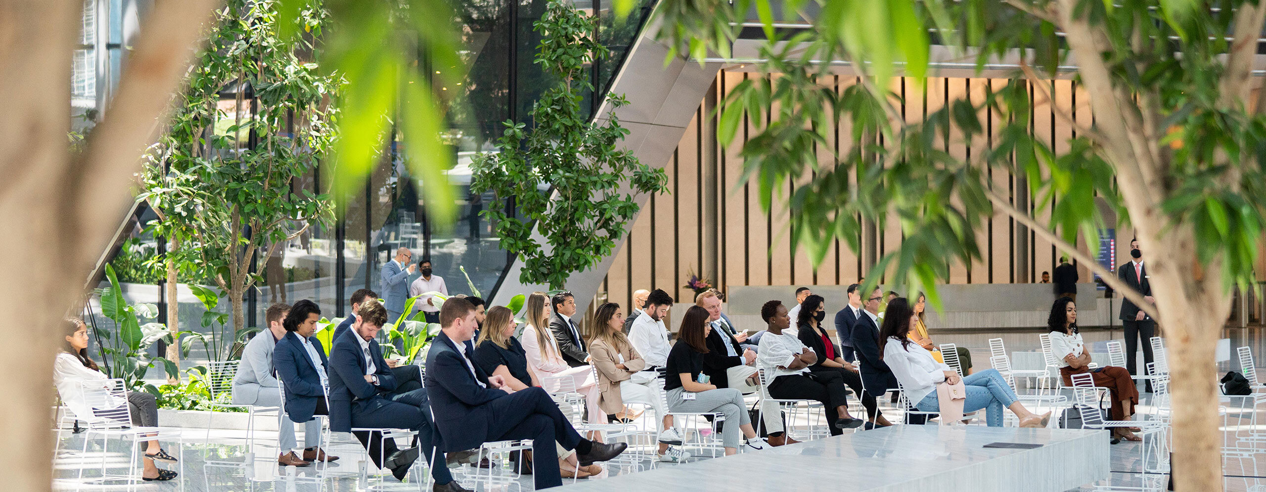 ICD Brookfield Place Dubai Breathe easy – air quality and the importance of office wellbeing